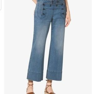 Michael Kors cropped denim pants